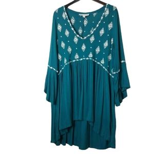 Torrid Super Soft Embroidered Tunic